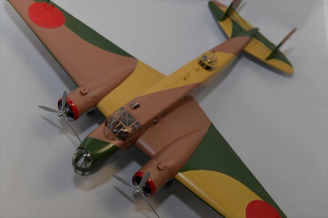 陸軍 1/48 伊式重爆撃機(クラッシクエアフレーム)