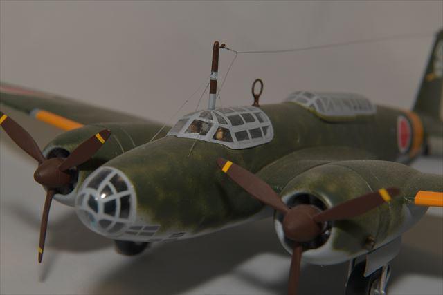 陸軍1/48九七式重爆撃機2型(ラクーンモデル)